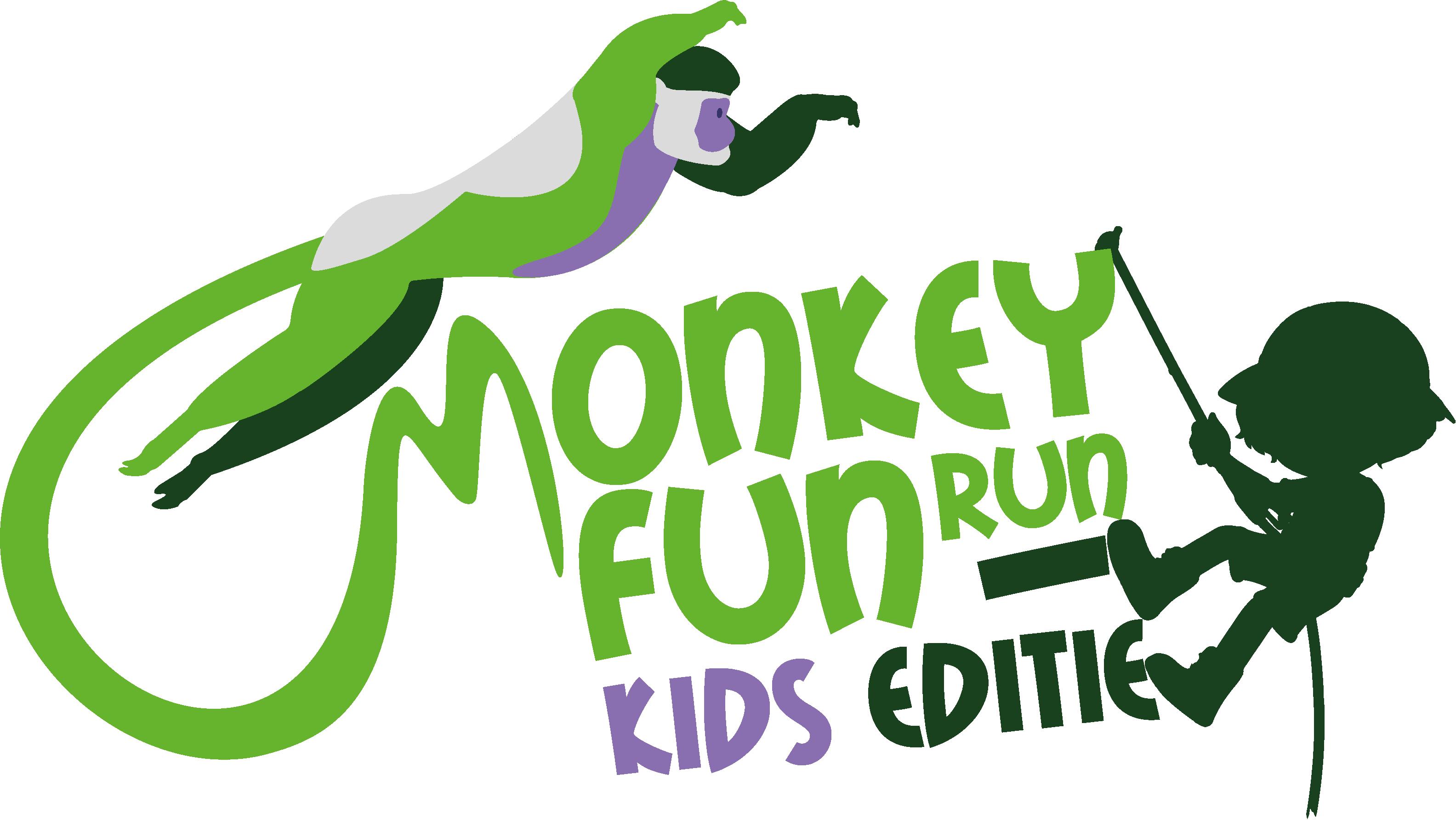 Monkey Fun Run Kids Editie